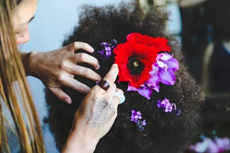 penteado floral afro (3)