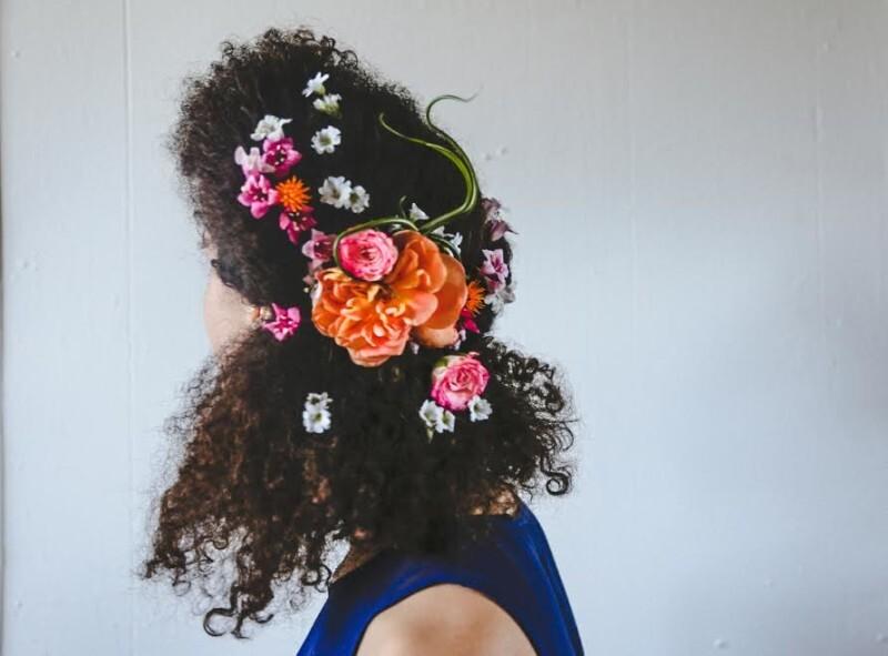 penteado floral afro (8)