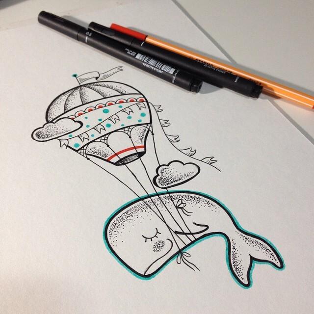 Tatuadora Brasileira Cria Desenhos Inspirados No Universo