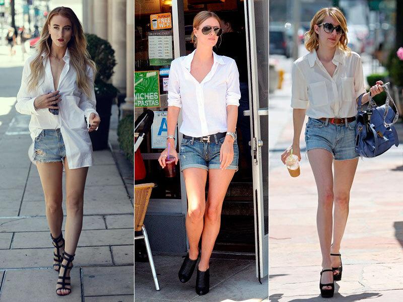 03-short-jeans-camisa-branca