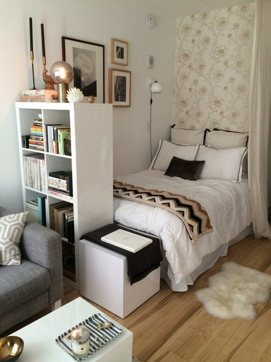 decoracao de ambientes pequenos quartos:Apartment Therapy Small Cool Spaces