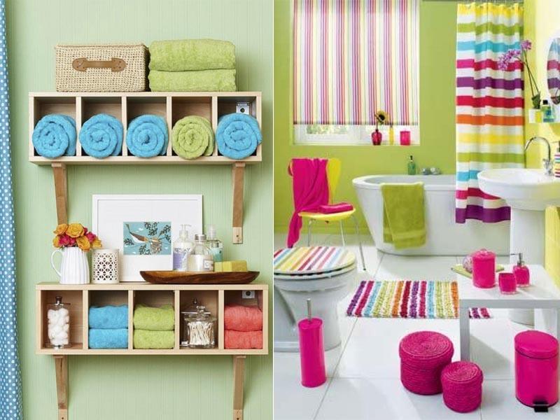20 ideias criativas de decoração para banheiros pequenos -> Banheiro Pequeno Ideias Criativas