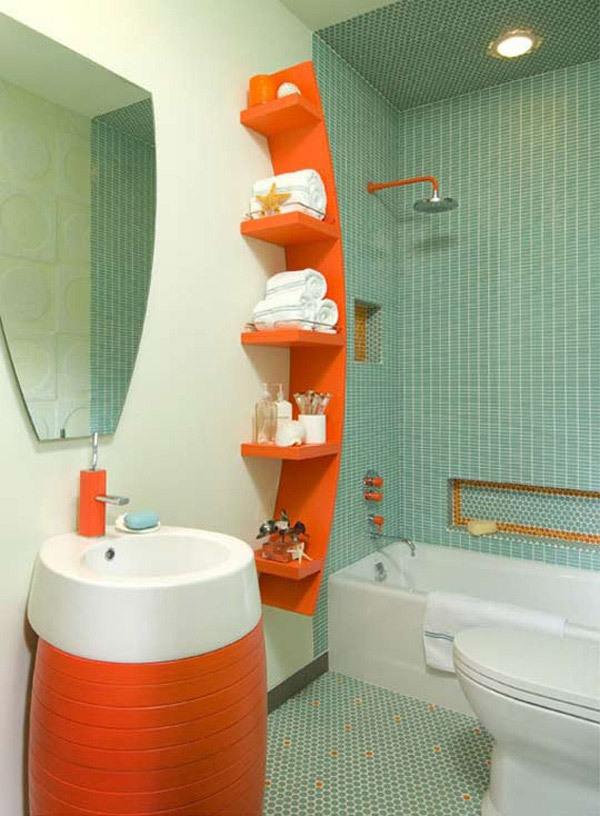 20 ideias criativas de decoração para banheiros pequenos -> Ampliar Banheiro Pequeno