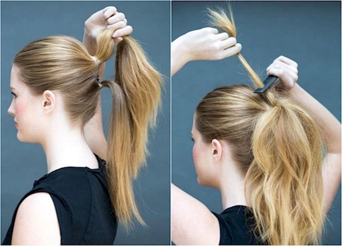 Penteado simples para o dia