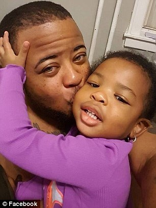 Kayden Coleman e sua filha, Azaelia