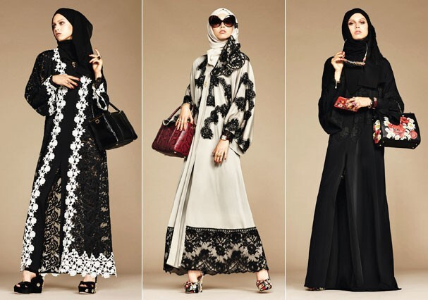 Véus e túnicas  Dolce   Gabbana lança coleção para muçulmanas 38e0d5c9c3