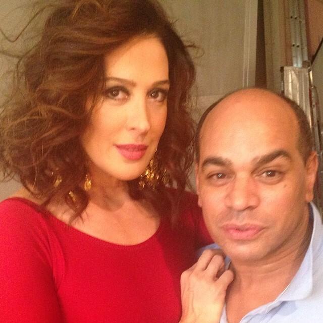 Kaká Moraes e Claudia raia