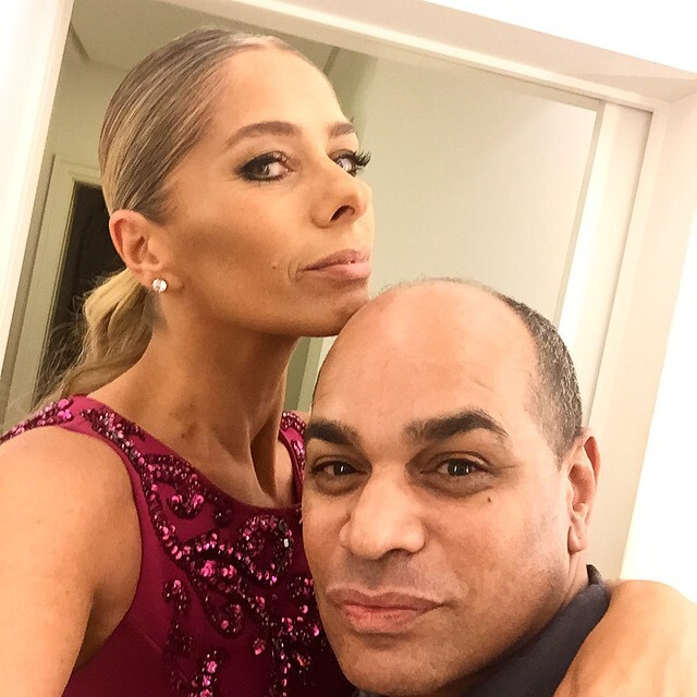 Kaká Moraes e Adriane Galisteu