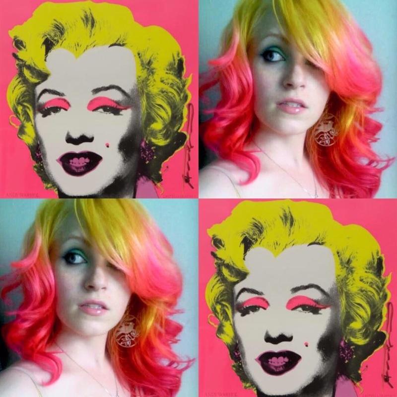 Andy Warhol e sua pop art inspiram o look
