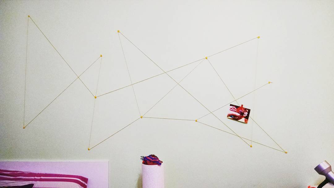 Tem como adaptar essa ideia ao formato de uma constelação!