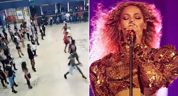 Audição para ala / Beyoncé