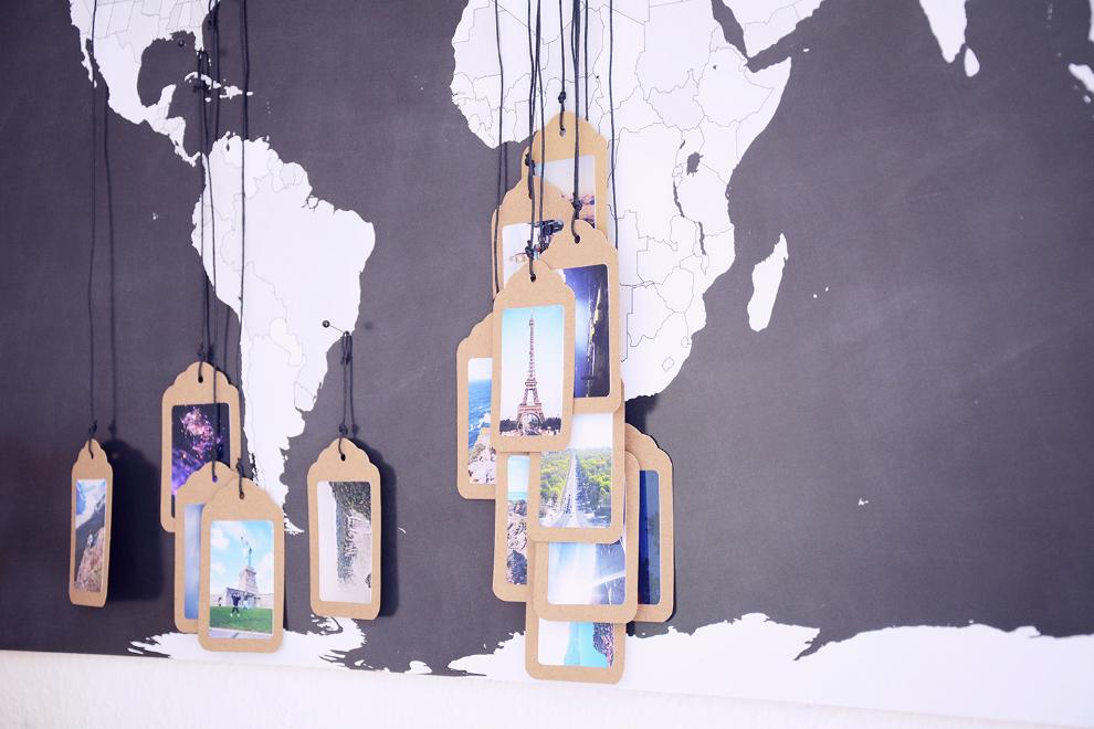 14 ideias de decora o para quem ama viajar. Black Bedroom Furniture Sets. Home Design Ideas