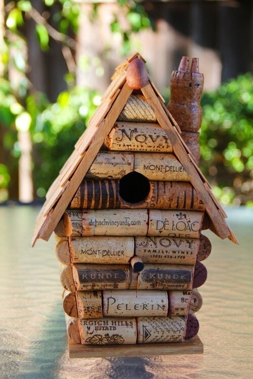 artesanato-rolha-de-cortiça-casa-de-passarinho