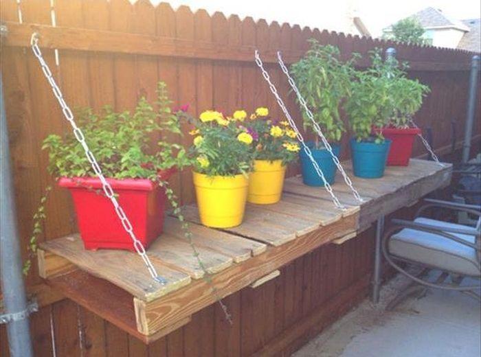 50 ideias criativas para transformar paletes em m veis e for Articulos decorativos para jardin