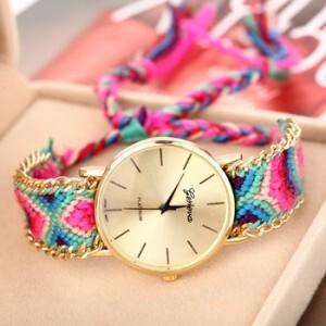 2014-chegada-nova-Handmade-pulseira-corda-relógio-de-pulso-Bohemia-genebra-ouro-cadeia-de-tecido-vestido.jpg_350x350