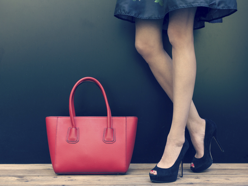 81fa29cf6 A liquidação da Anacapri inclui diferentes tipos de bolsas e sapatos
